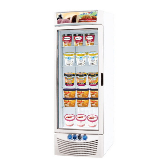 Gea ASIA-45 Tall Ice Cream Display Freezer 397L