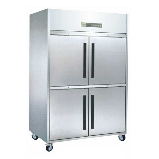 Gea L-RW8U1HH Stainless Steel Upright Freezer 2 Door 550L