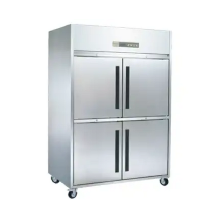 Gea M-RW8U2HHHH Stainless Steel Upright Chiller 4 Door 1170L - SerataFoods