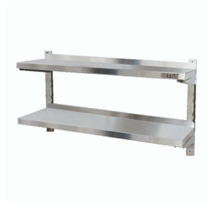 Getra AWS-120 Double Adjusted Wall Shelves