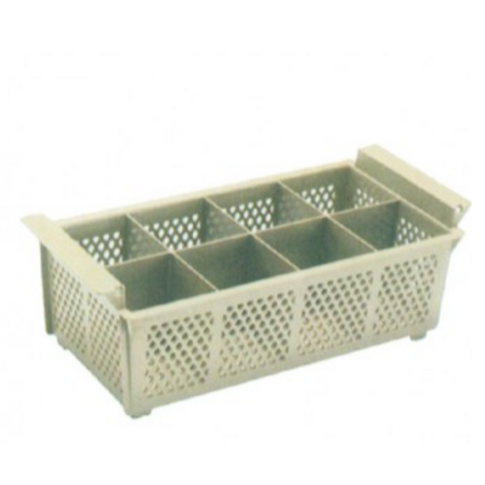 Getra CB-08 Cutlery Basket 8 Compartment - SerataFoods