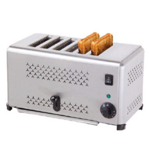 Getra EST-AP-6 6 Slot Toaster - Pop Up