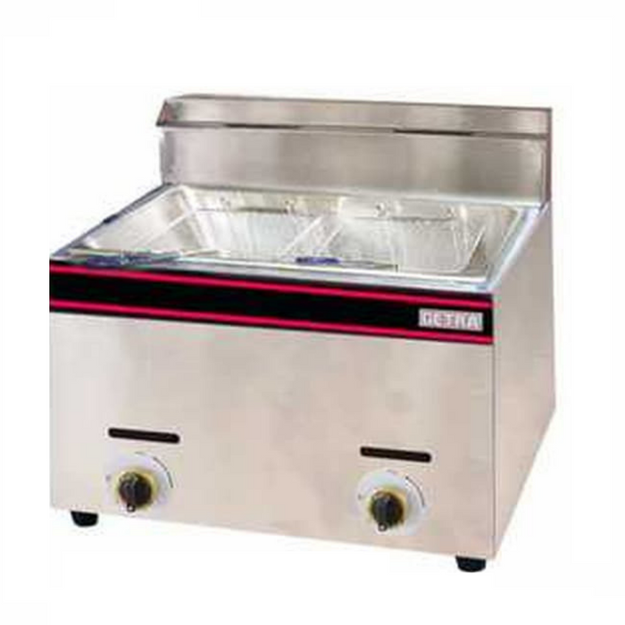 Getra GF-73 Gas Table Top Fryer 2 Basket - SerataFoods