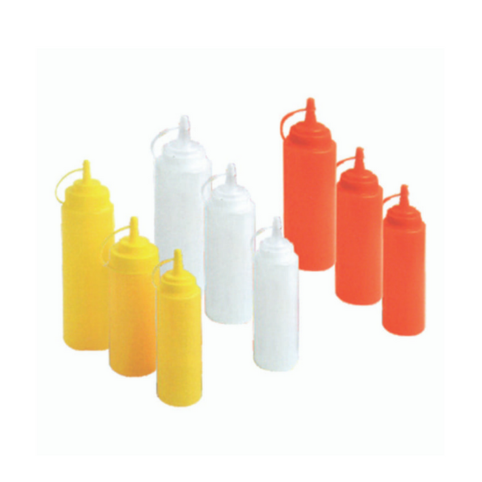 Getra JD-BSD12 Sauce Squeeze Dispenser 6cm (Red, White, Yellow) 0.34L