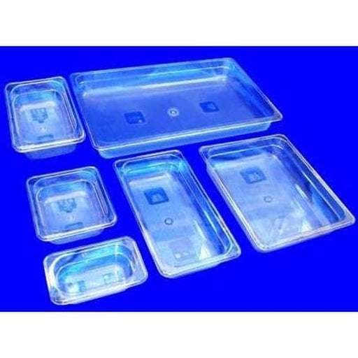 Getra PC 1.3-4 Polycarbonate Food Pan GN 1-3 - SerataFoods