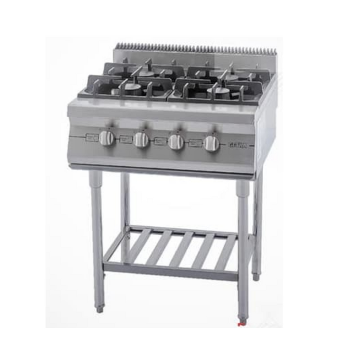 Getra RBD-4 Small Gas Open Burner w Stand