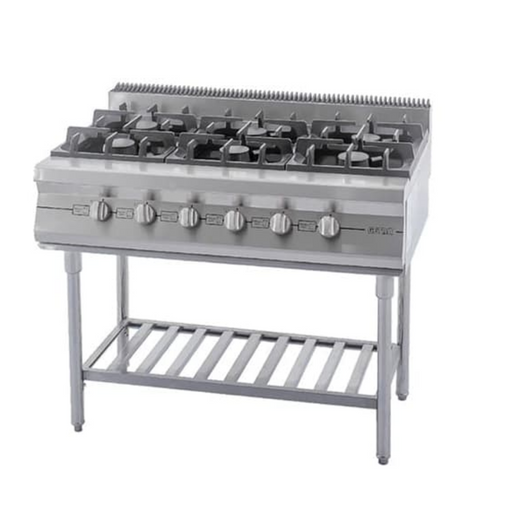 Getra RBD-6 Large Gas Open Burner w Stand - SerataFoods