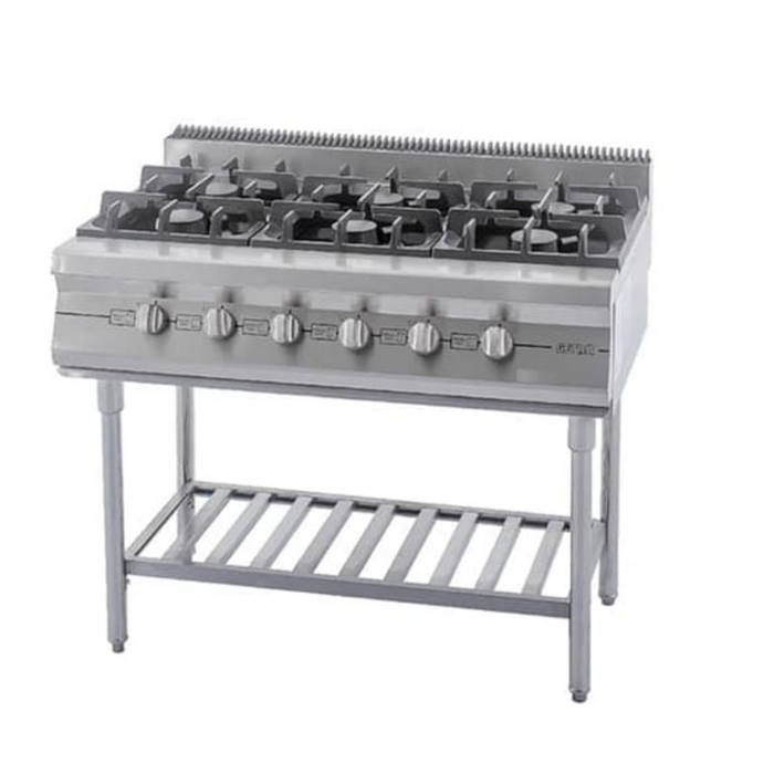 Getra RBD-6 Large Gas Open Burner w Stand