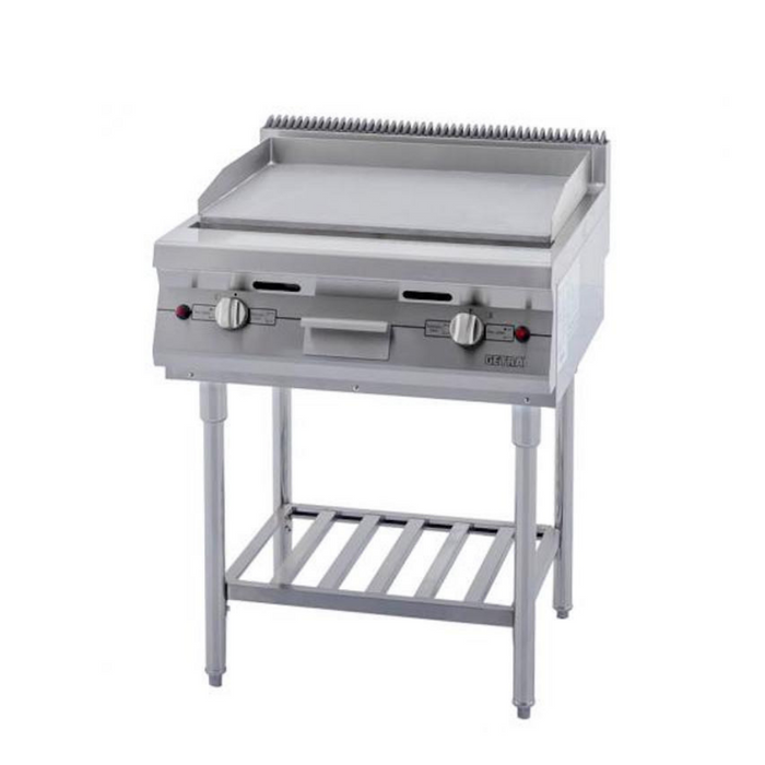 Getra RPD-4B Gas Open Griddle Strip w Shelf