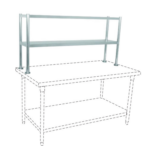 Getra TES-120 SS Table Extra Shelf - SerataFoods