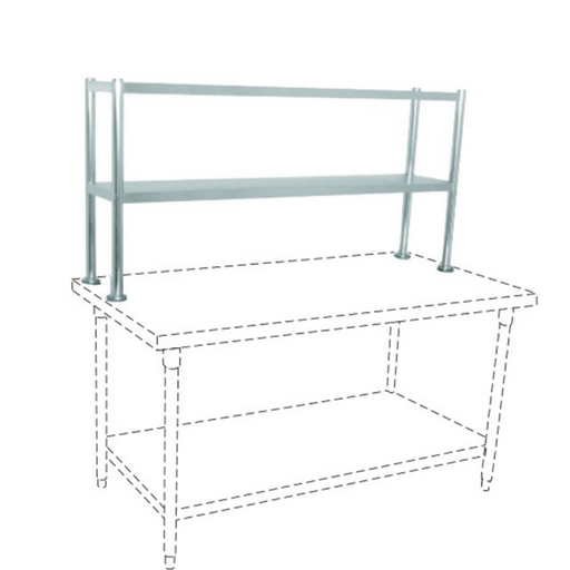 Getra TES-150 SS Table Extra Shelf - SerataFoods