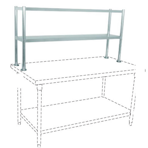 Getra TES-180 SS Table Extra Shelf - SerataFoods