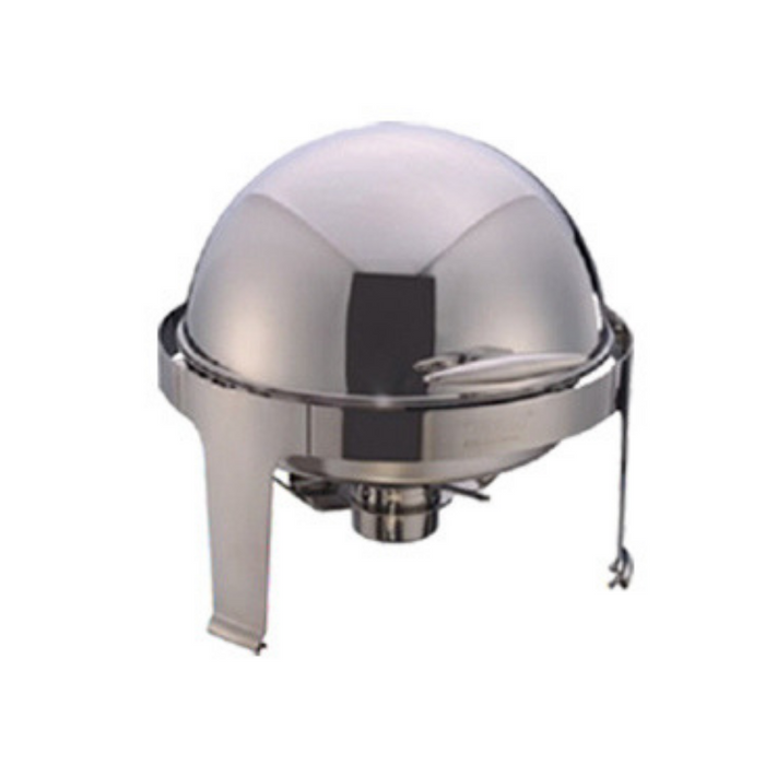 Getra YH-721LD Round Roll Top Chaffing Dish (w Window Lid)