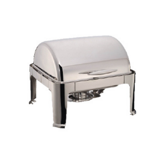 Getra YH-722D Rectangle Roll Top Chafing Dish 5.5L - SerataFoods