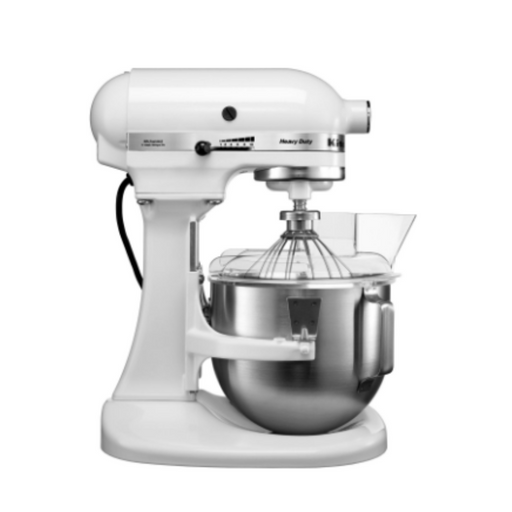 KitchenAid 5KPM50EWH Heavy Duty Bowl-Lift Stand Mixer + Additional Bowl 4.8L - SerataFoods