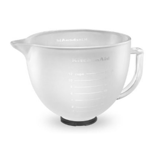 [PRE-ORDER] KitchenAid K5GBF Frosted Glass Bowl 4.8L - SerataFoods