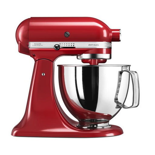 KitchenAid 5KSM125EER 5-Quart Artisan Stand Mixer Empire Red 4.8L
