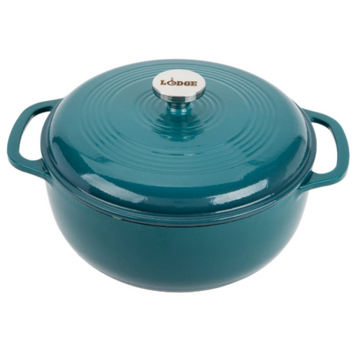 Lodge EC6D38 6 Quart Lagoon Dutch Oven 5.68L - SerataFoods