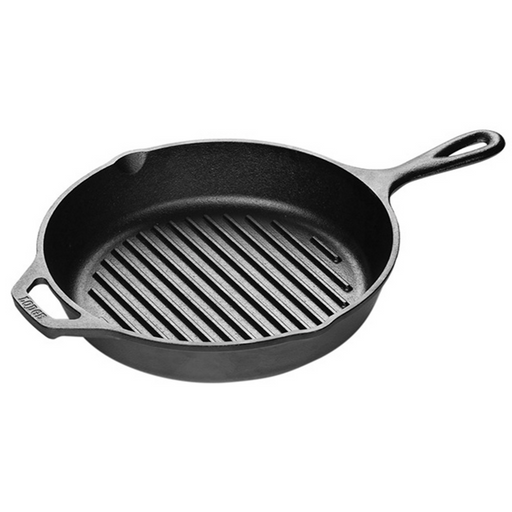 Lodge L8GP3 10.25 Inch Cast Iron Grill Pan - SerataFoods
