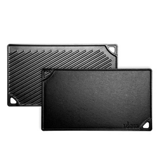 Lodge LDP3 Cast Iron Reversible Grill Or Griddle - Update Kraft Box 2pcs - SerataFoods