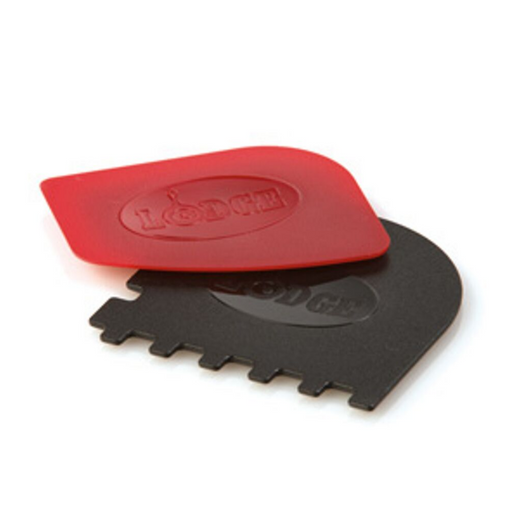 Lodge SCRAPERCOMBO Combination Grill Or Pan Scrapers Pack - SerataFoods