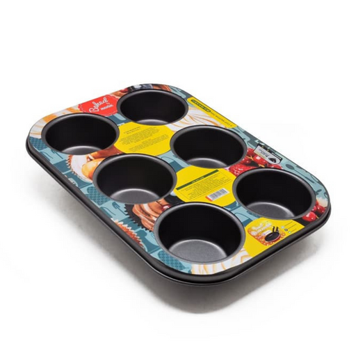 MAXIM BW6MUP(ZX)26 6 Cup Muffin Pan - SerataFoods