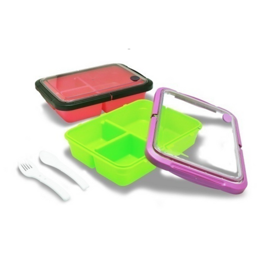 MAXIM MBC3LB Lunch Box Bento Rectangle Box