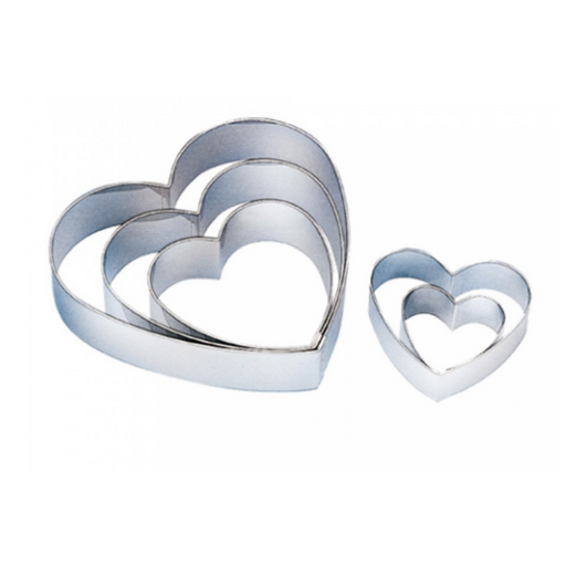 Sanneng SN33555 Heart Ring 5pcs