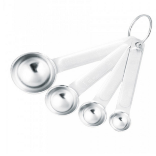 Sanneng SN4692 Stainless Steel Measuring Spoons 4pcs