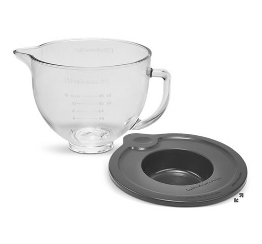 KitchenAid KSM5GB 5 Quart Glass Bowl - SerataFoods