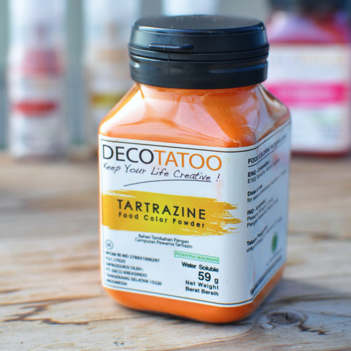 Deco Tattoo YCWS59 Yellow Coloring Water Soluble - SerataFoods