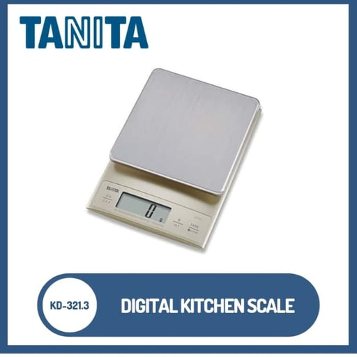 TANITA KD-321.3 TANITA Digital Scale with Liquid Measurement Mode - SerataFoods