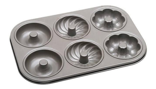 Unopan UN11101 UNOPAN 6 Links Savarin Cake Pan (Non-Stick) - SerataFoods