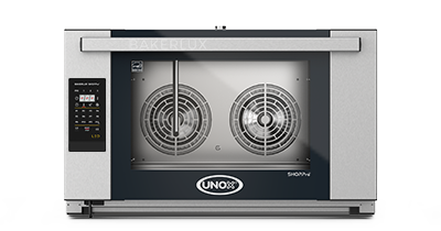 UNOX XEFT-04EU-ELDP Convection Oven 4 Trays ROSELLA LED - SerataFoods