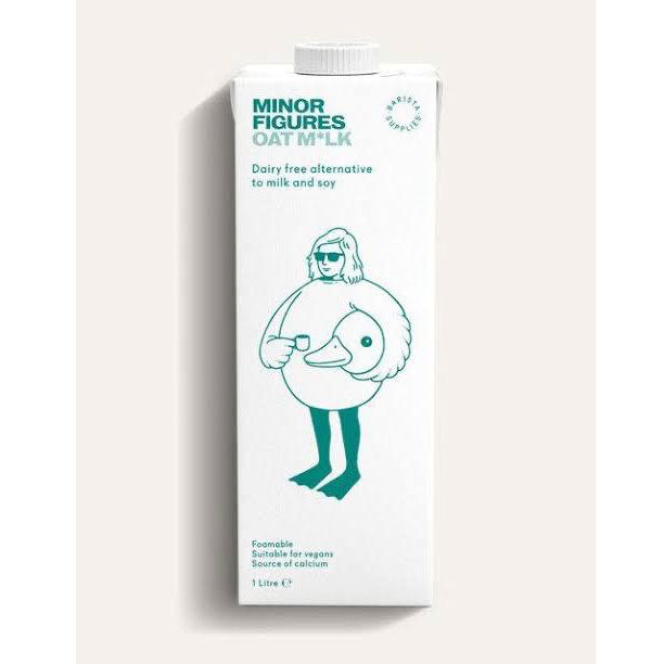 MINOR FIGURES Oat Milk 1L - SerataFoods