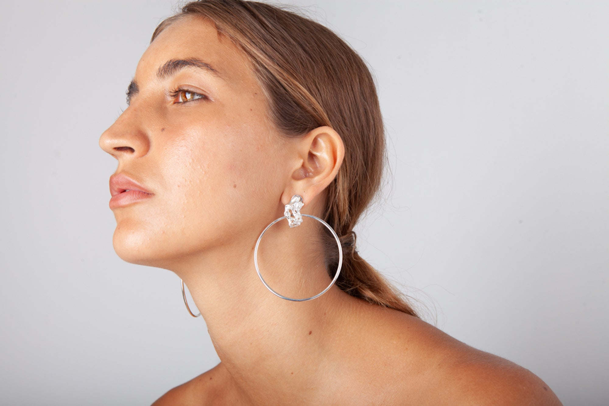 Formation Hoop Earrings