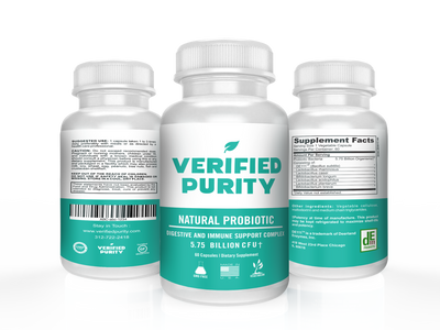 Verified Purity Probioitcs
