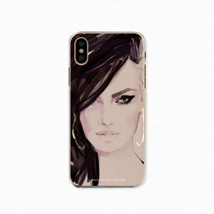"iPhone X Softcase ""Beauty"""