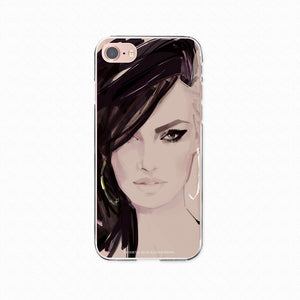 "iPhone 8 Softcase ""Beauty"""