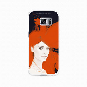 "Samsung Galaxy S7Edge Softcase ""Flying"""