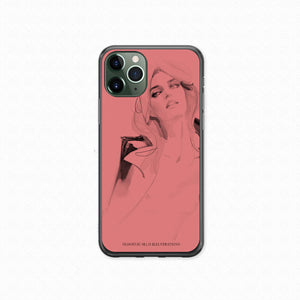 "iPhone 11Pro Softcase ""Pretty In Pink"""