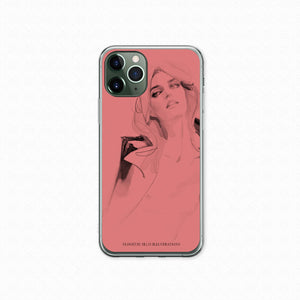 "iPhone 11Pro Max Softcase ""Pretty In Pink"""