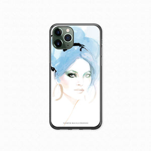"iPhone 11Pro Max Softcase ""Valentino Blue"""
