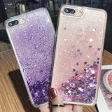 Quicksand Soft TPU Floating Luxury Designer Cell Phone cases