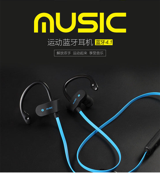 Bluetooth Headphones V4.1 Wireless Stereo Bluetooth Earphones for In-ear Earbuds with Mic for iOS and Android