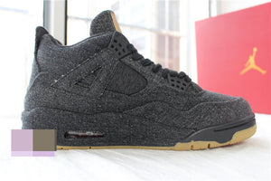 Jordan 4 Black Denim