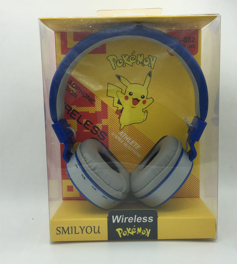 Cartoon child Wireless Headphones  With Microphone