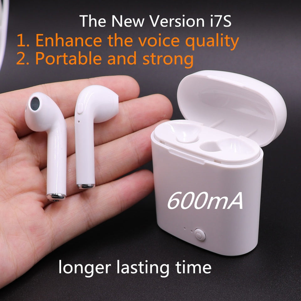 Wireless Earbuds Headphones for iphones IOS and Android smart phones