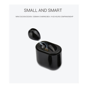 Mini Small Stereo Earbuds Bluetooth with Charging Box