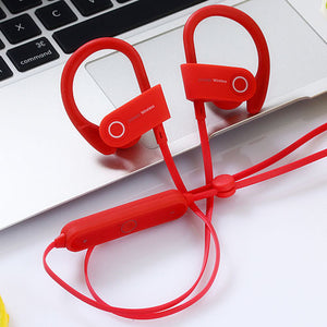 Daono U8 bluetooth  headphones stereo headset 4.1 Sports&Sweat-proof In-ear earbuds wireless earphones For iPhone4/5/6 Samsung